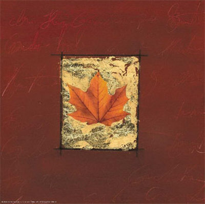 Red Leaf Diaries I