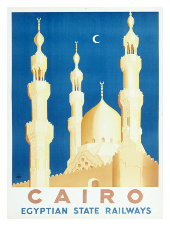 Buy Cairo Egyptian Train Railway at AllPosters.com