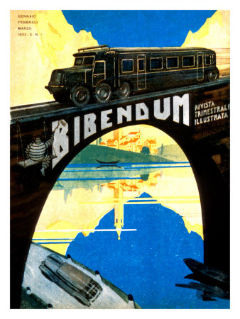 Michelin, Auto Train Tire Posters