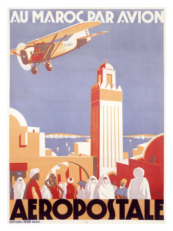 Buy Marocco via Aeropostale Airline at AllPosters.com
