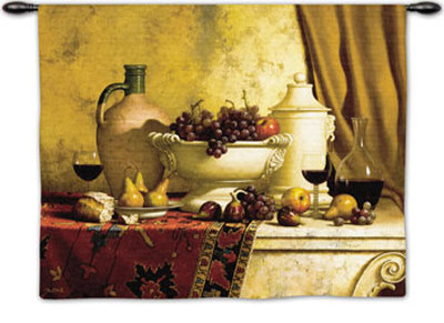 Italian Feast Wall Tapestry