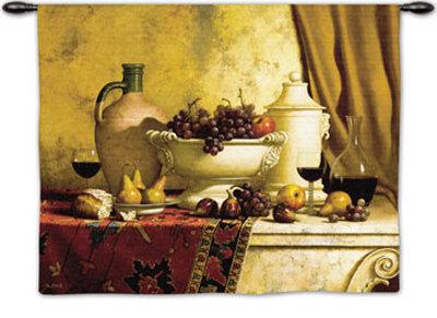 Italian Feast Wall Tapestry