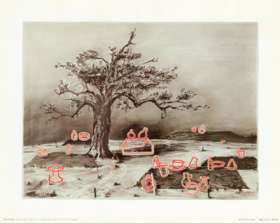 Drawing from Faustus in Africa, c.1975 - Art Print