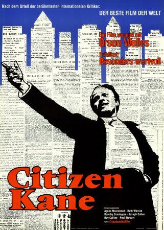 Citizen Kane - Art Print
