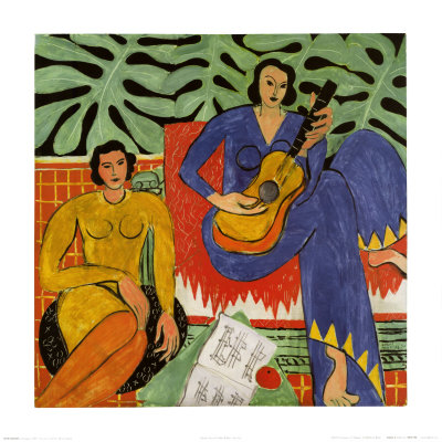 Music, c.1939 - Art Print