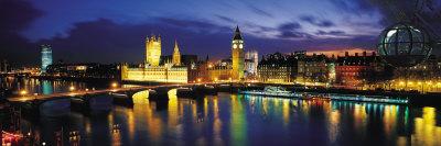 Nacht, London, England, Vereinigtes ...