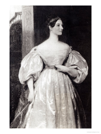 Portrait of Augusta Ada Byron Countess of Lovelace