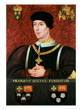 Portrait of Henry VI of England
