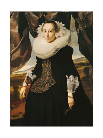 Portrait of a Young Dutch Woman
