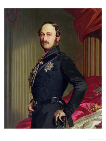 Portrait of Prince Albert 1859