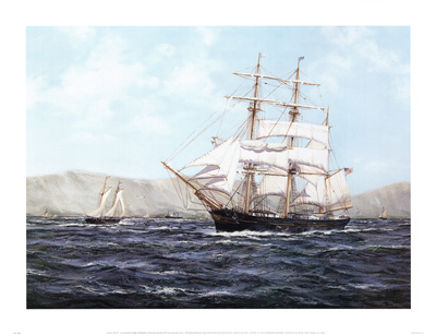 The barque Annie Johnson.