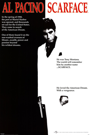 Scarface - Movie One-Sheet Poster