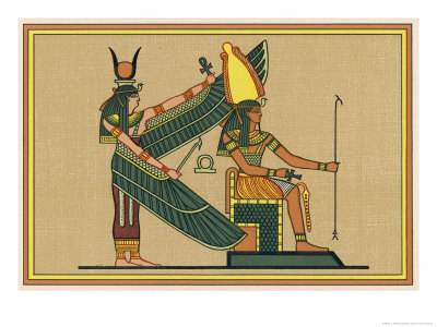 Isis with Ptah-Seker-Ausar God of ...
