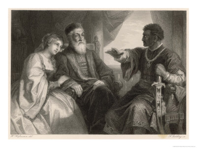 Othello Impresses Desdemona and Her Father with His Eventful Life-Story