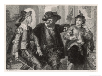 Twelth Night, Sir Toby Belch with the Reluctant Duellists