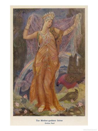 Ischtar, babylonische Göttin
