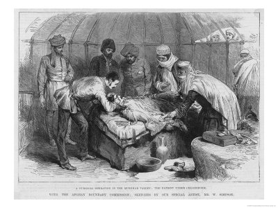 Surgical Operation in the Murghab Valley Giclee Print