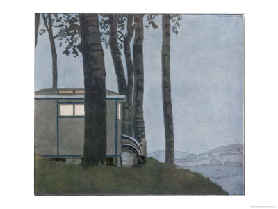 Caravan at Nightfall