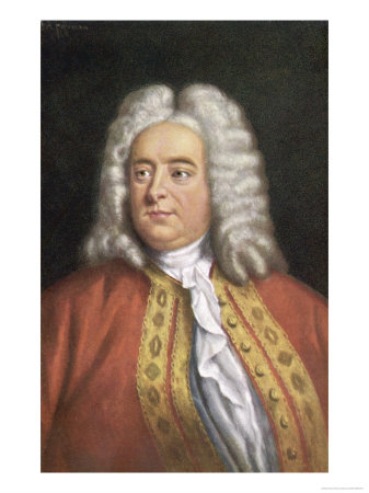 George Frederic Handel Composer - Buy this giclee print at AllPosters.com