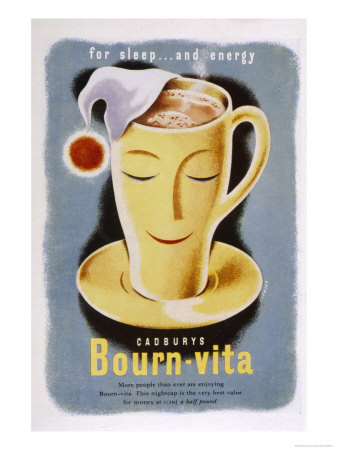 Cadbury's Bourn-Vita for Sleep and Energy
