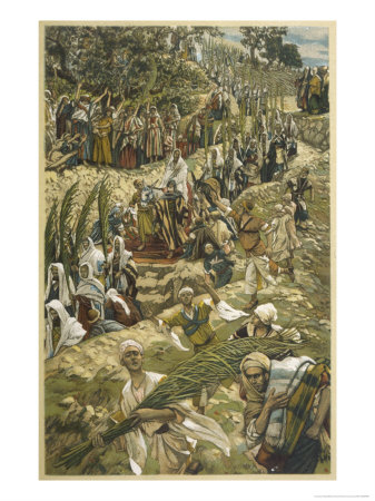 Jesus Enters Jerusalem on Palm Sunday