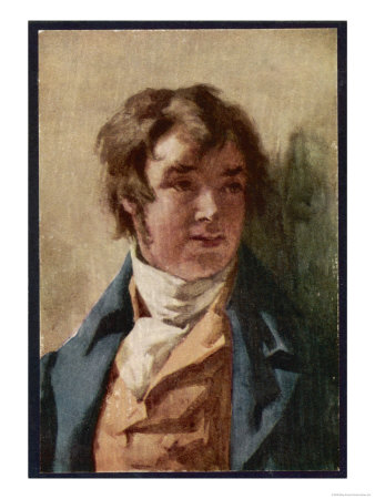 Samuel Taylor Coleridge English Poet and Critic as a Young Man