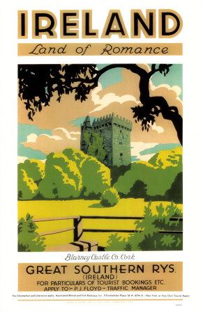Ireland- Land Of Romance Masterprint
