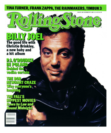 Billy Joel, Rolling Stone no. 486, November 1986