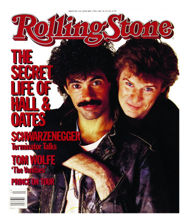 Darryl Hall and John Oates, Rolling Stone no. 439, January 1985 - Buy this photographic print at AllPosters.com