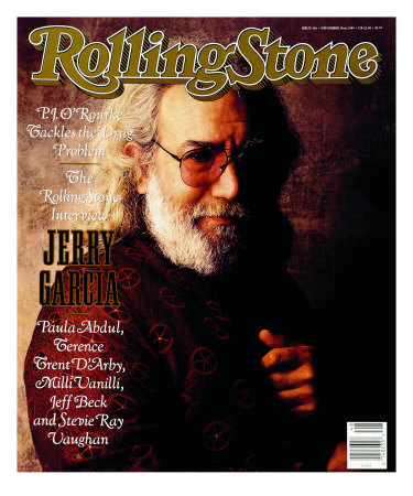 Jerry Garcia, Rolling Stone no. 566, November 1989