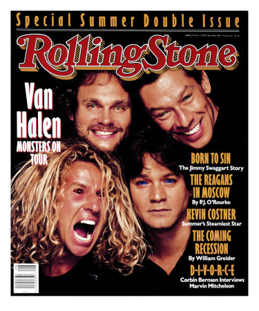 Van Halen, Rolling Stone no. 530/531, July 1988