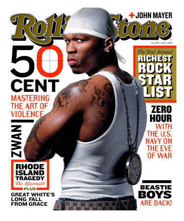 50 Cent, Rolling Stone no. 919, April 2003