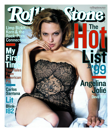 Angelina Jolie, Rolling Stone no. 819, August 1999