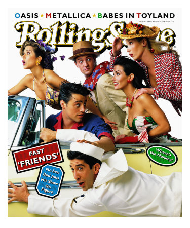 Cast of Friends, Rolling Stone no. 708, May 1995