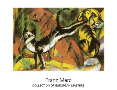 Drei Katzen, 1913