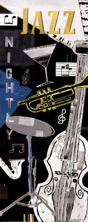 Jazz Nightly Art Print