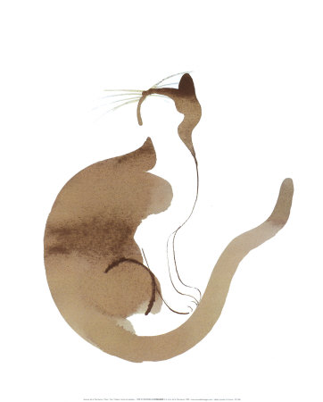 Chat - Art Print