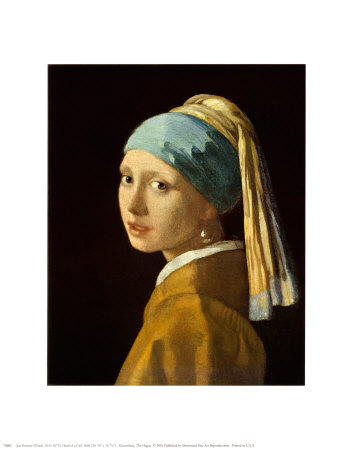Girl with a Pearl Earring Posters