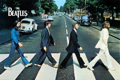 The Beatles - Abbey Road Giant Poster