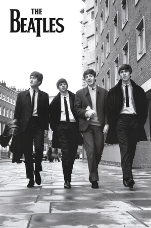 The Beatles in London Poster
