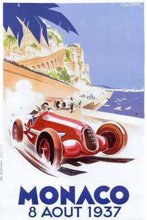 Monaco, 1937 Art Print