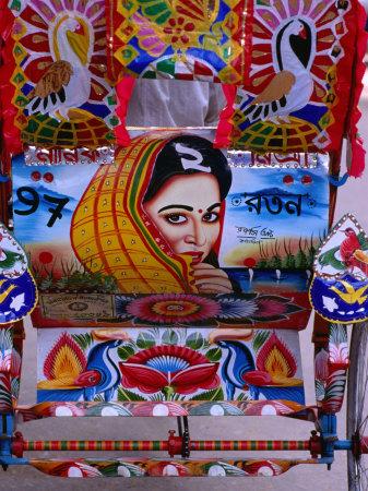 Decorated Rickshaw, Dhaka, Dhaka ...