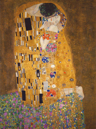 The Kiss, c.1907,Gustav  Klimt