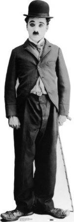Charlie Chaplin Cardboard Cutouts