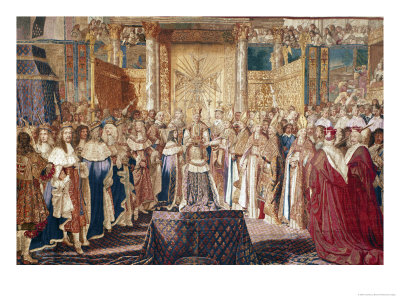 The Coronation of Louis XIV (June 7, 1654)