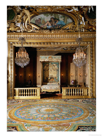 The Chambre Du Roi, the Bedroom, at Vaux-Le-Vicomte