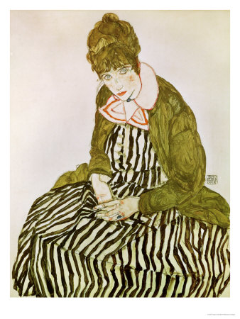 Edith Schiele, the Artist