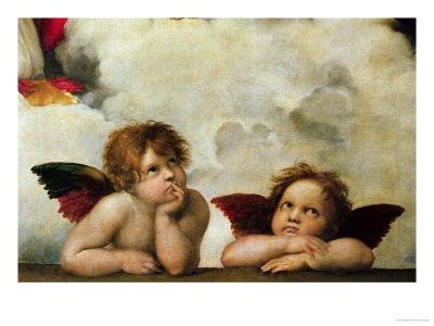 The Two Angels Raphael