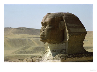 The Sphinx of Gizeh, 4th Dynasty