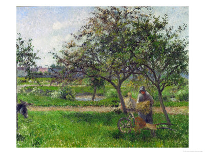 Barrow in the Orchard, circa 1881